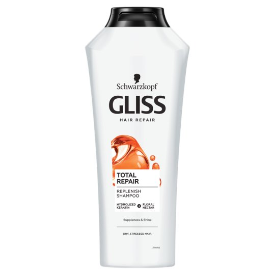 Gliss Kur Hair Regenerating Shampoo Total Repair 400 ml