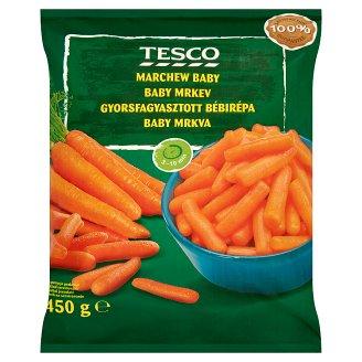 Tesco Quick-Frozen Baby Carrots 450 g
