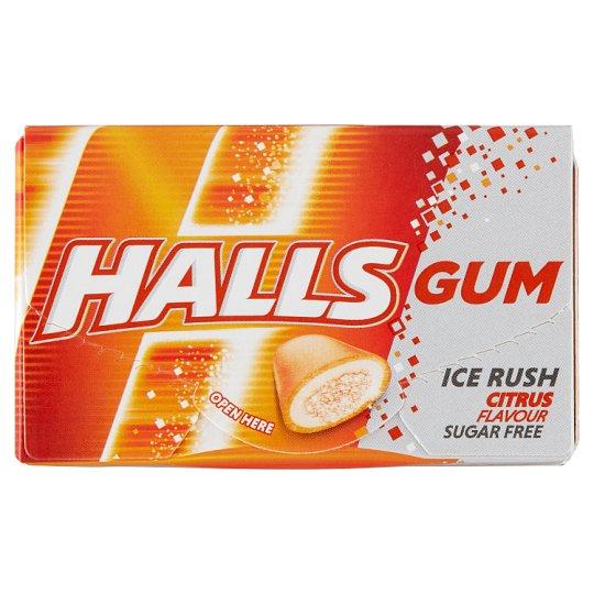 Halls Sugar Free Citrus Flavoured Gums 18 g