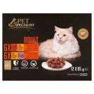 Tesco Pet Specialist Premium teljes értékű eledel felnőtt macskák számára falatok szószban 12 x 85 g