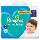 Pampers Active Baby, 6-as Méret, 80 db Pelenka, 13–18 kg