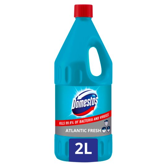 DOMESTOS Extended Power Disinfectant Liquid Cleaner Atlantic Fresh 2 l