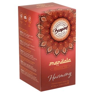 Biopont Mandala Harmony Filtered Organic Spice Tea 20 Tea Bags 36 g