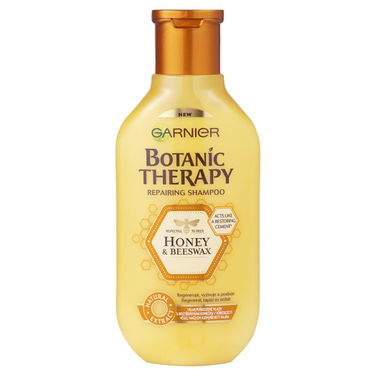 Garnier Botanic Therapy Honey & Propolis Shampoo for Damaged and Very Used Hair 400 ml