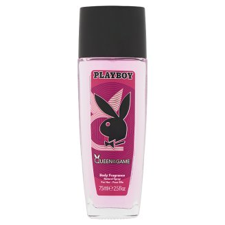 Playboy Queen of the Game Body Fragrance Natural Spray for Her 75 ml
