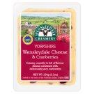 Wensleydale Creamery Yorkshire Wensleydale & Cranberries félzsíros kemény sajt vörösáfonyával 150 g