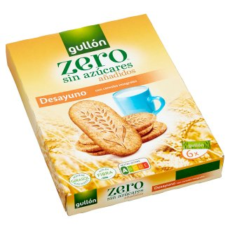 Gullón Biscuit with Wholegrains without Added Sugars and with Sweeteners 216 g