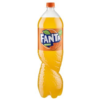 Fanta Orange Carbonated Soft Drink 1,75 l