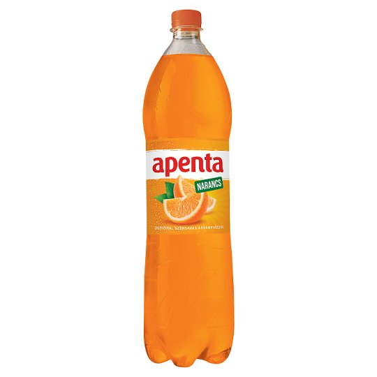 Apenta Orange Flavoured Carbonated Soft Drink with Natural Mineral Water 1,5 l