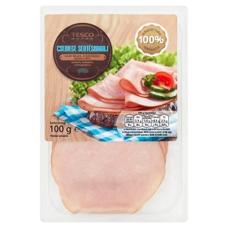 Tesco Smoked Cooked, Marinated Boneless Pork Loin Slices 100 g