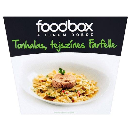 Foodbox tonhalas, tejszínes farfelle 330 g