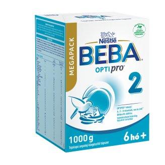 Beba Pro 2 tejalapú anyatej-kiegészítő tápszer 6-12 hónapos korig 1000 g