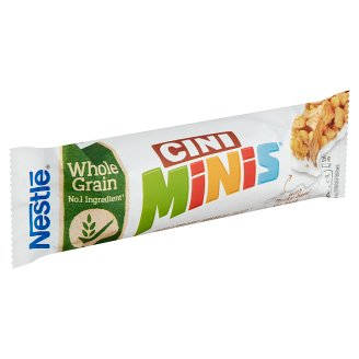 Nestlé Cini Minis Cinnamon Flavour Cereal Bar with Milk Coating 25 g