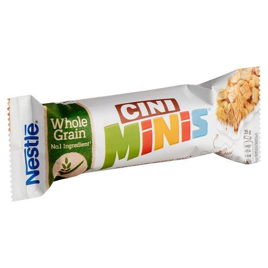 Nestlé Cini Minis Cinnamon Flavour Cereal Bar with Milk Coating 25 g