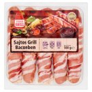 Tesco Grill Frankfurter with Cheese in Bacon 500 g