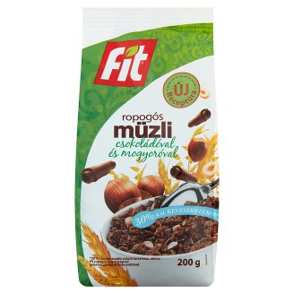 Fit Reggeli Crunchy Muesli with Chocolate and Hazelnut 200 g