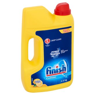 Finish Classic Lemon Sparkle Dishwashing Powder 2,5 kg