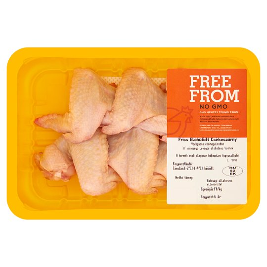 Hercsi Fresh Pre-Chilled Chicken Wings GMO-Free