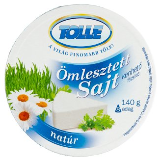 Tolle Unflavoured Spreadable Semi-Fat Processed Cheese 140 g