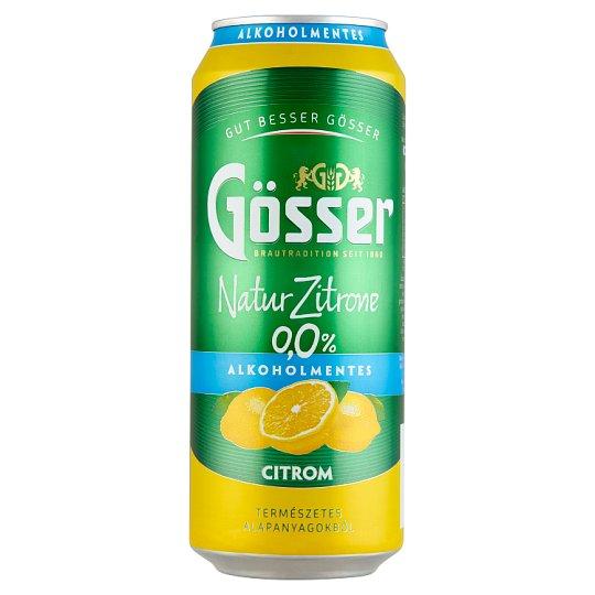 Natur Zitrone alkoholmentes citrom ízű szénsavas ital 0,5 l doboz