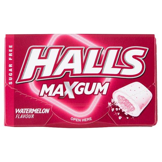 Halls görögdinnyeízű cukormentes rágógumi édesítőszerekkel 18 g