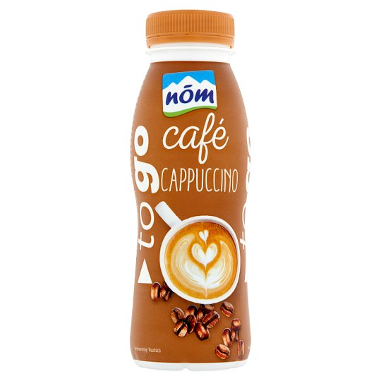 NÖM to go Cappuccino UTH Low-Fat Coffee Flavoured Milk Drink 250 ml