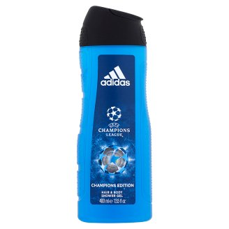 Adidas UEFA Champions League Champions Edition Hair & Body Shower Gel for Men 400 ml