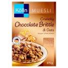 Kölln teljes kiőrlésű zabpehelyből készült müzli csokoládéval és mogyorógrillázzsal 375 g