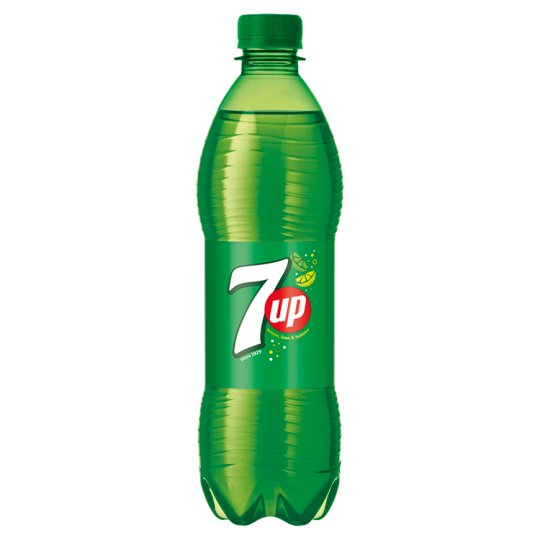 7UP Citrus Flavoured Carbonated Drink with Sugar and Sweetener 0,5 l