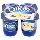 Danone Oikos Görög Vanilla Flavoured Cream Yoghurt with Live Cultures 4 x 125 g