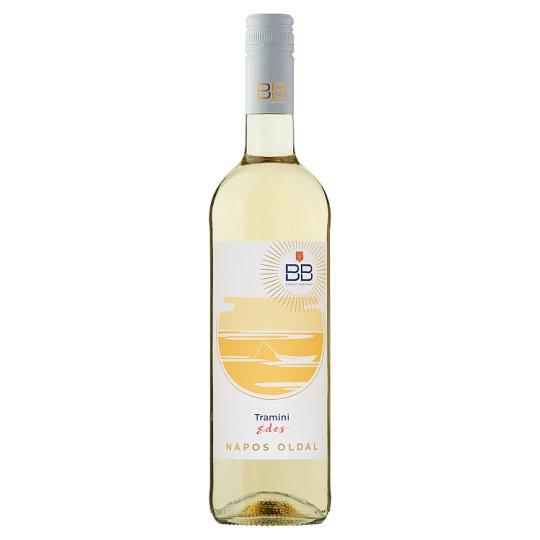 BB Napos Oldal Dunántúli Tramini édes fehérbor 0,75 l + forralt bor fűszerkeverék 10 g