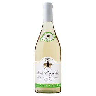 Gróf Nagyrédei Olaszrizling Dry White Wine 12% 0,75 l