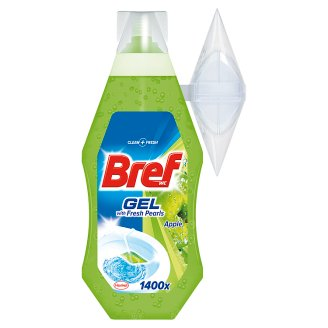 Bref Gel Apple toalett frissítő alma illattal 360 ml