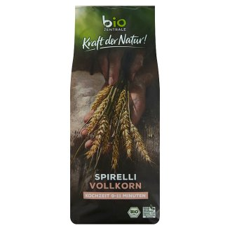 Bio Zentrale Organic Spirelli Pasta from Durum Whole Wheat Semolina 500 g