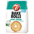 7DAYS Bake Rolls Bread Crisps with Sour Cream and Onion Flavour 80 g