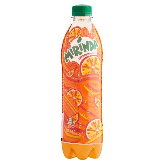 Mirinda Orange Carbonated Soft Drink with Sweeteners 0,5 l