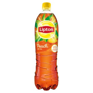Lipton Ice Tea Peach Flavoured Non-Carbonated Soft Drink with Sugar and Sweeteners 1,5 l