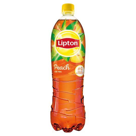 Lipton Ice Tea őszibarack ízű szénsavmentes üdítőital cukorral és édesítőszerrel 1,5 l
