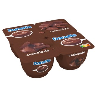 Danone Danette Chocolate Flavoured Pudding 4 x 125 g