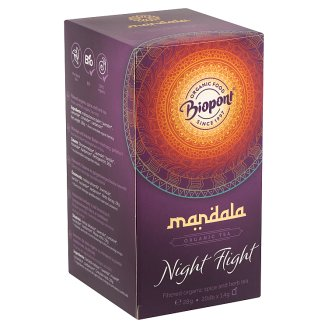 Biopont Mandala Night Flight Organic Spice and Herb Tea 20 Tea Bags 28 g
