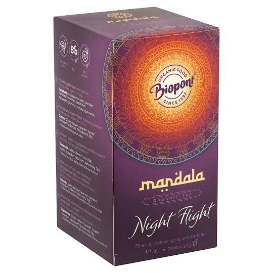 Biopont Mandala Night Flight fűszeres és gyógynövényes BIO teakeverék 20 filter 28 g