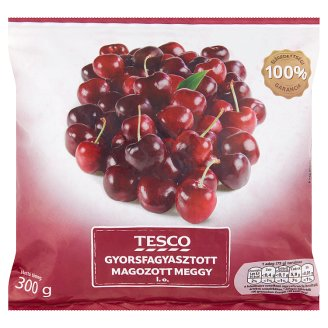 Tesco Quick-Frozen Stoned Sour Cherry 300 g