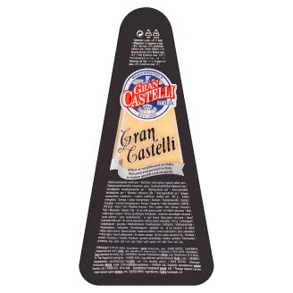 Gran Castelli félzsíros extra kemény sajt 125 g