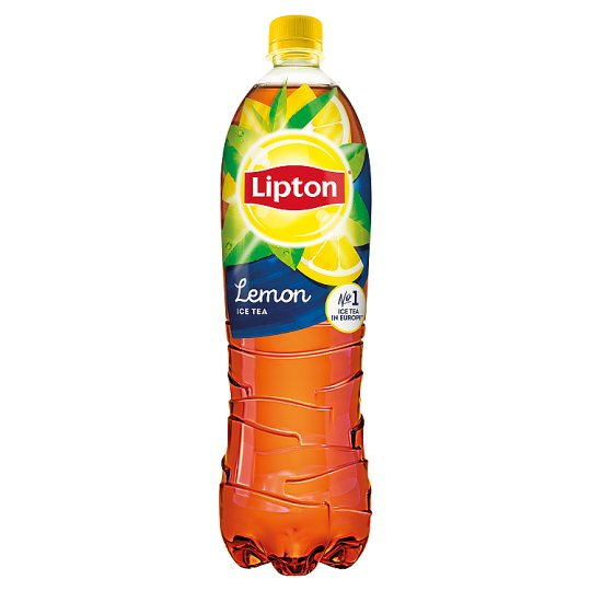 Lipton Ice Tea Lemon Flavoured Non-Carbonated Soft Drink with Sugar and Sweeteners 1,5 l