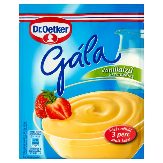 Dr. Oetker Gála vaníliaízű krémpudingpor 78 g