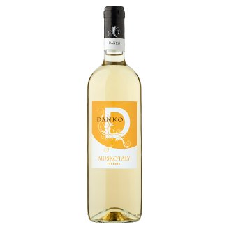 Dankó Duna-Tisza Közi Muskotály félédes fehér tájbor 10,5% 750 ml
