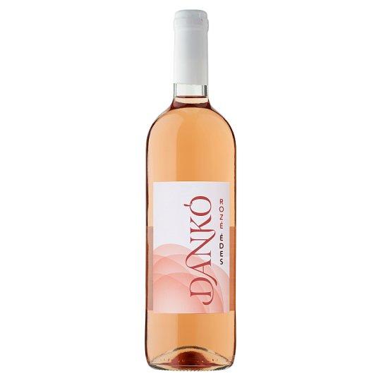 Dankó Duna-Tisza Közi Rosé Cuvée édes rosé tájbor 10,5% 750 ml