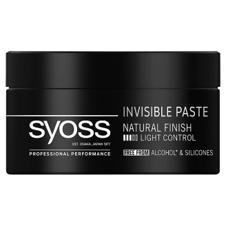 Syoss Invisible Hold Hair Styling Paste 100 ml