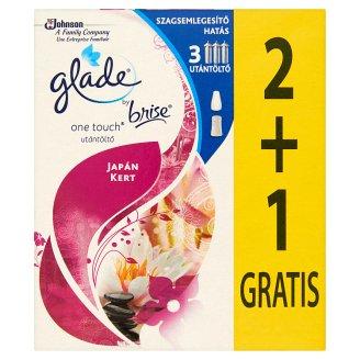 Glade by Brise One Touch Mini Spray Japanese Garden Aerosol Air Freshener Refill 3 x 10 ml