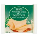 Tesco Processed Cheese Sliced with Emmentaler 8 pcs 150 g